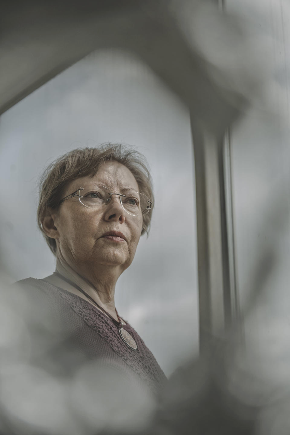 Juliane Diller, who recently retired as deputy director of the Bavarian State Collection of Zoology, stands for a portrait at the institution in Munich, May 19, 2021. (Laetitia Vancon for The New York Times)