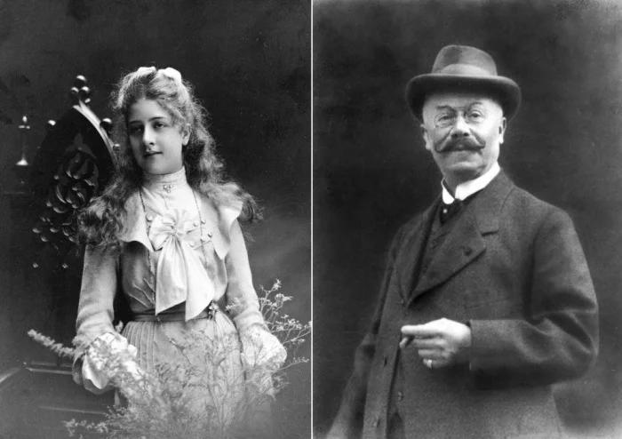 Эмиль Еллинек с дочерью Адрианой-Мерседес