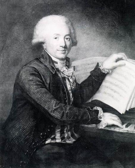 Grétry am Pianoforte (Antoine Vestier, um 1788)