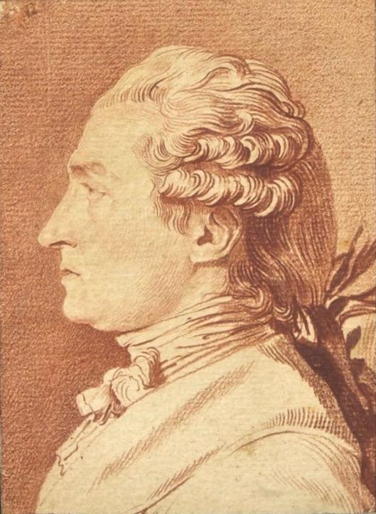 Porträt aus dem Besitz Grétrys (Louis-Roland Trinquesse).