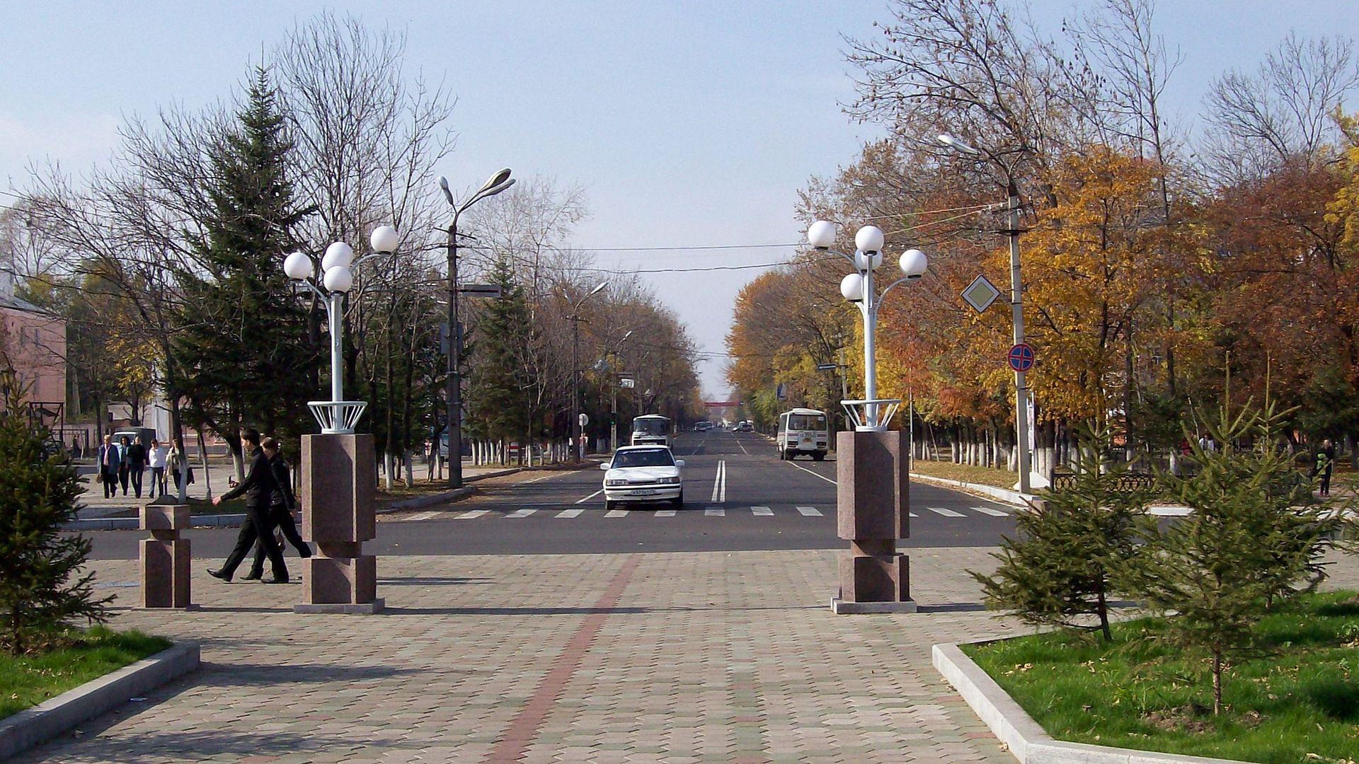 Биробиджан, ул Шолом-Алейхема