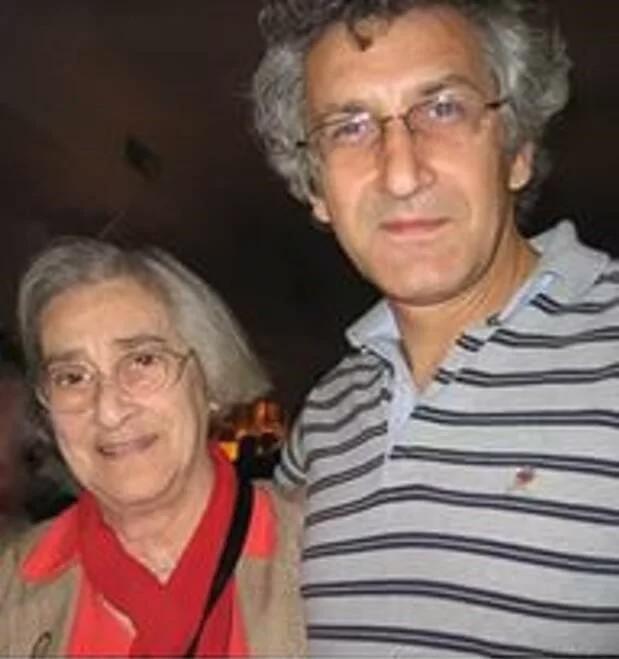 Елена Боннэр с сыном Алексеем Семеновым. Фото из открытых источников. Яндекс