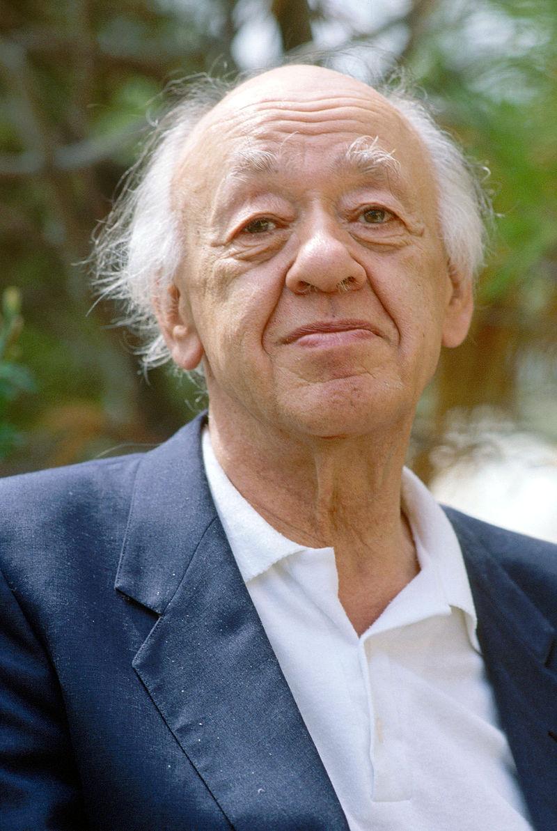 Lo scrittore e drammaturgo Eugene Ionesco