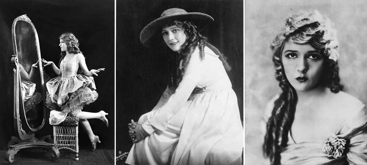 Мэри Пикфорд в начале 1920-х. (сс) Wikimedia Commons