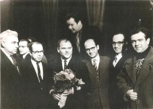 015 1960 г после спектакля  оперы В бурю Хренникова