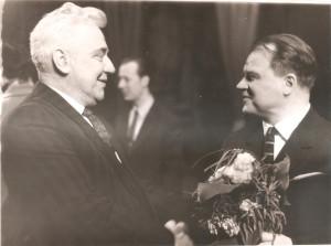 016 1962 г  с Хренниковым Премьера оперы В БУРЮ