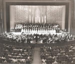 1984 г.  Оперный театр. Хор Богд-ского.
