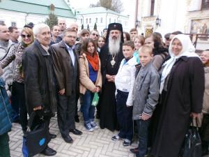 В.Лупашко на первом плане