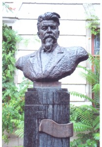 Бюст Музическу в Кишинэу