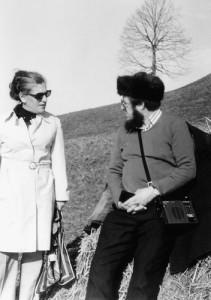 Элизабет Маркштейн и Александр Солженицын, 1974© Reinhard Öhner
