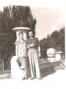 1956 г.  Иринка ещё не родилась...