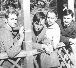 Крутиков, Грабовский, Годзяцкий, Загорцев. 1967 год