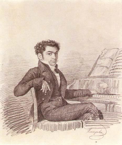Гравюра Карла Гампельна, 1830-е