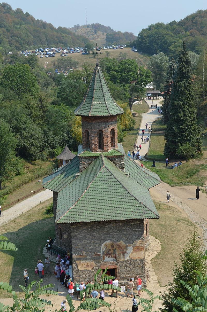 Монастырь Прислоп / Vedere a bisericii Mănăstirii Prislop / Razvan Socol - Operă proprieAceasta este o imagine cu un monument istoric din România, clasificat cu numărul