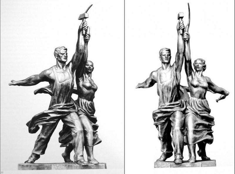Рабочая модель скульптуры