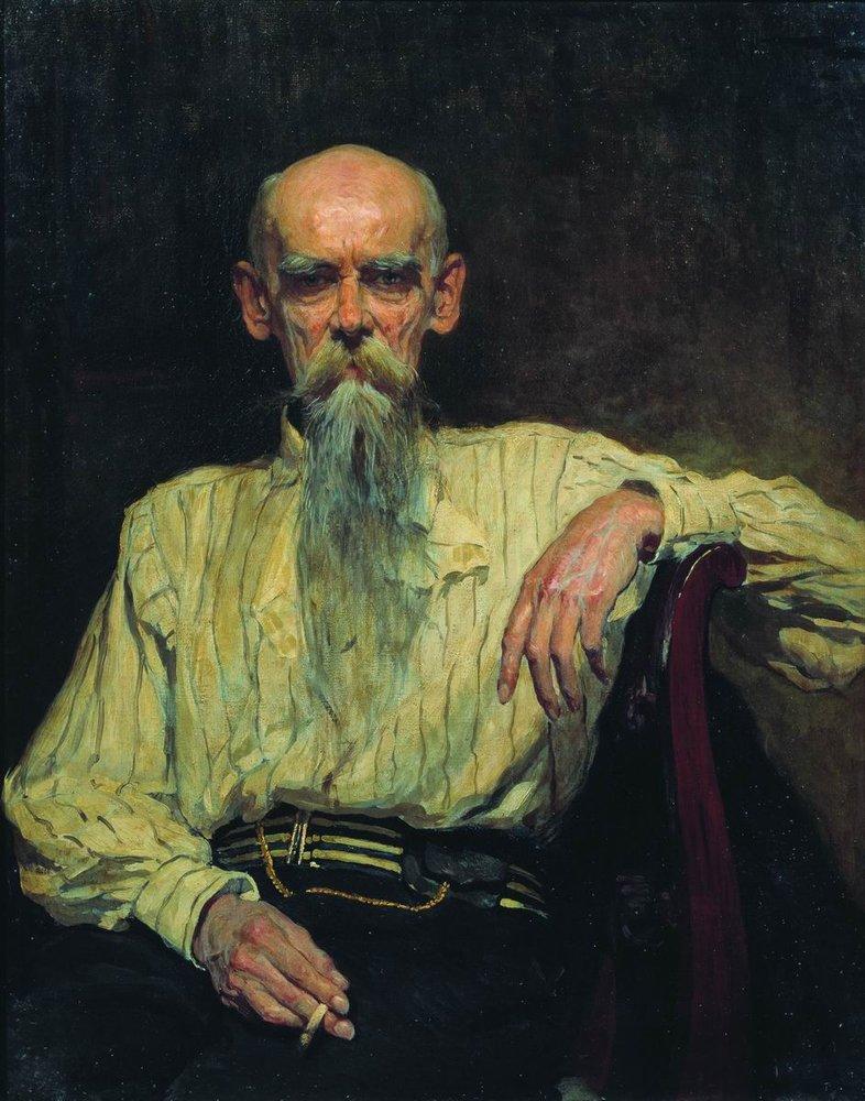 Портрет работы А.В. Маковского, (1914).