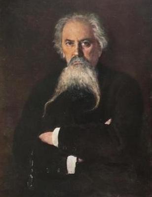 В. Маковский «Портрет А.М. Жемчужникова», 1888