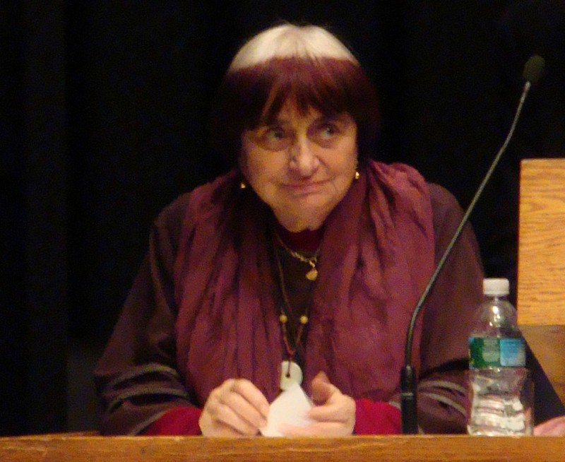 Аньес Варда, март 2009 / Agnès Varda speaking at a retrospective series at the Harvard Film Archive/Puchku - собственная работа
