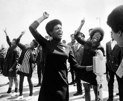 05_Аньес Варда. «Черные пантеры». Демонстрация в Окленде, 1968. Предоставлено автором © Аньес Варда
