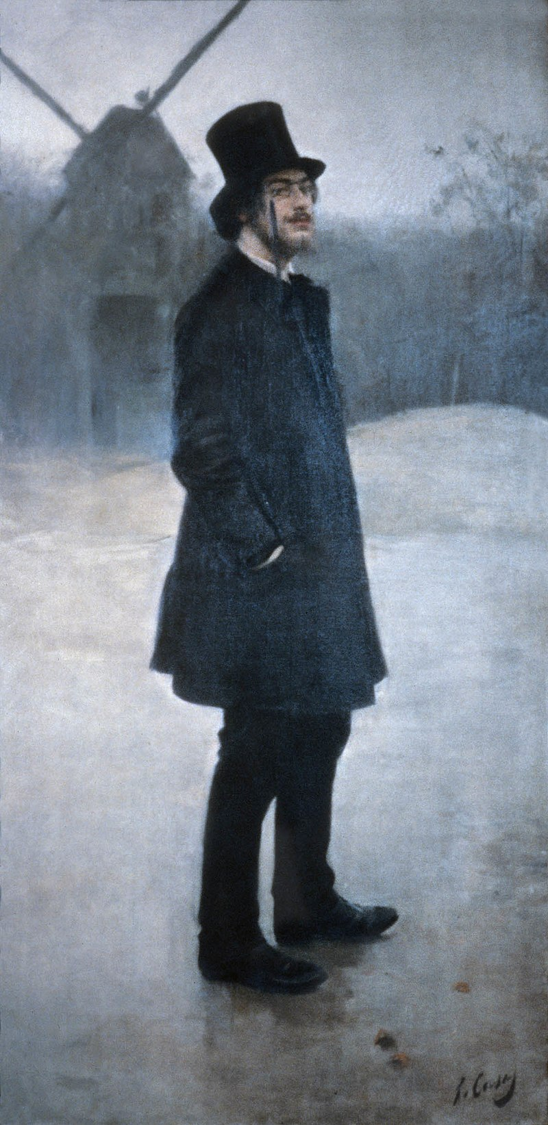 Erik Satie (1891), by Ramon Casas