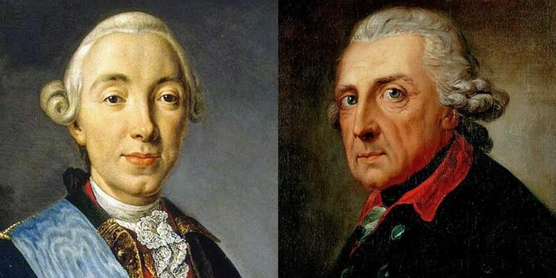 Петр III и Фридрих II