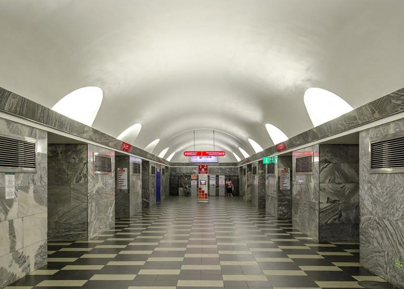 Станция «Чернышевская» Петербургского метрополитена