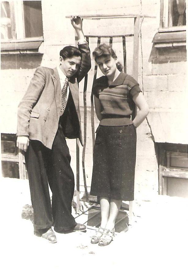 1954 г. / Фото из семейного архива И. Б. Милютиной