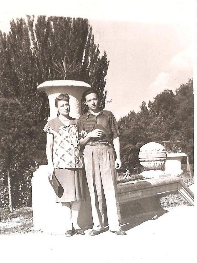 1956 г. / Фото из семейного архива И. Б. Милютиной