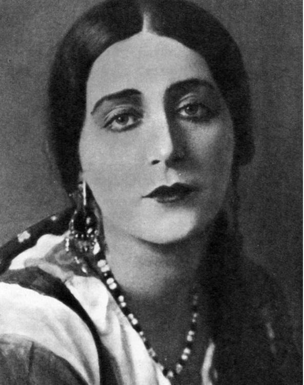 Н. А. Розенель в роли Анисьи. «Аракчеевщина» И. Платона. 1925 г.