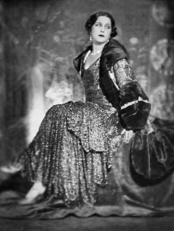 Н. А. Розенель. 1928 г.