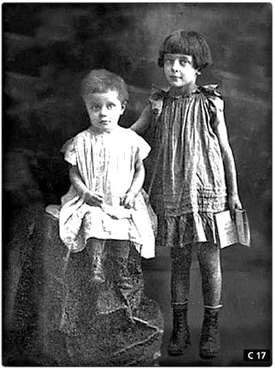 Ирина и Ариадна Эфрон