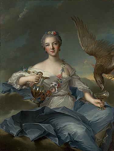 """Жан-Марк Натье (1685–1766). """"Геба"""" - богиня молодости и красоты, персонаж оперы-балета """"Галантная Индия"""""""