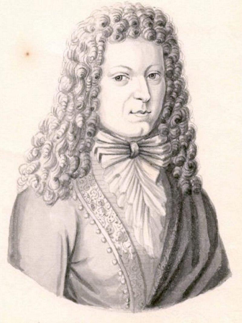 Иоганн Кунау 1660, Гейзинг — 1722, Лейпциг — немецкий композитор, органист и музыковед.