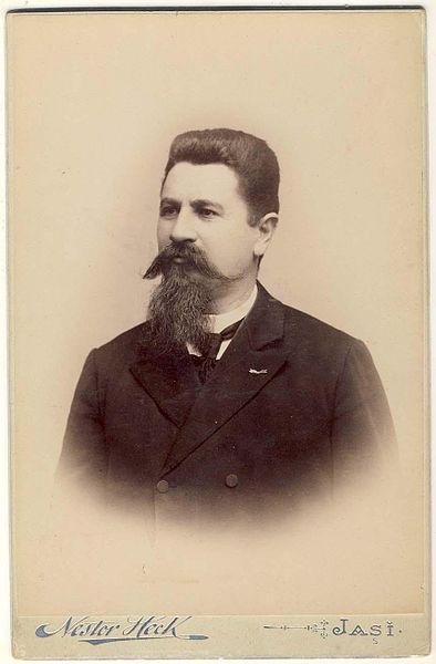 Nestor Heck - Portretul compozitorului Gavriil Musicescu (1847-1903), deţinător: Biblioteca Naţionalaă a României.
