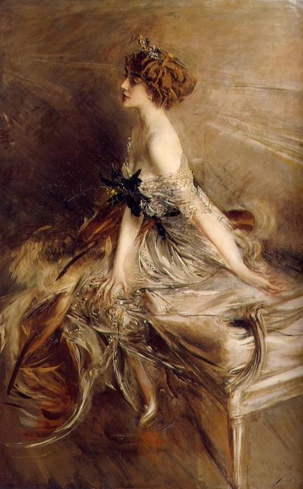 Marthe Bibesco Boldini / Марта Бибеску / картина Джованни Болдини (1911)