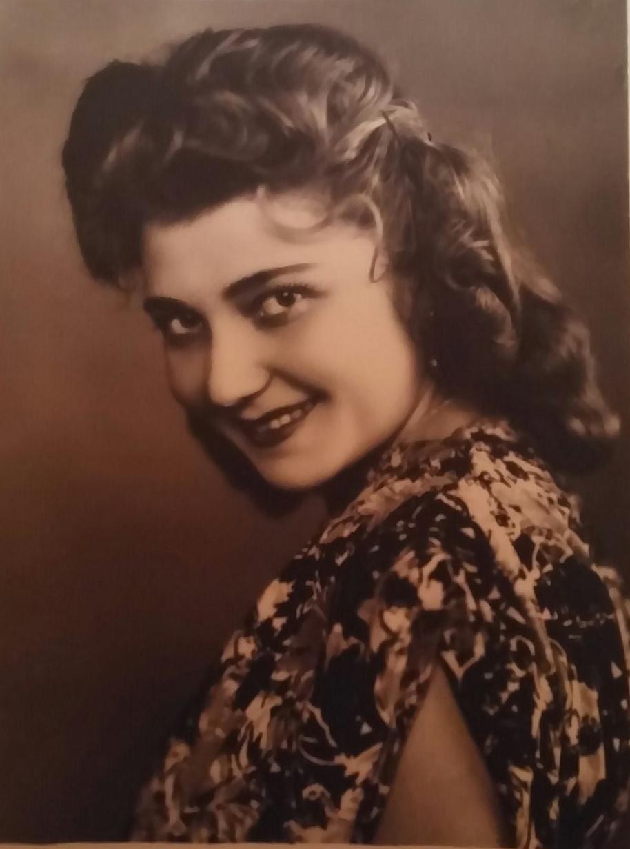 Татьяна Соколова в 1946-47 гг.