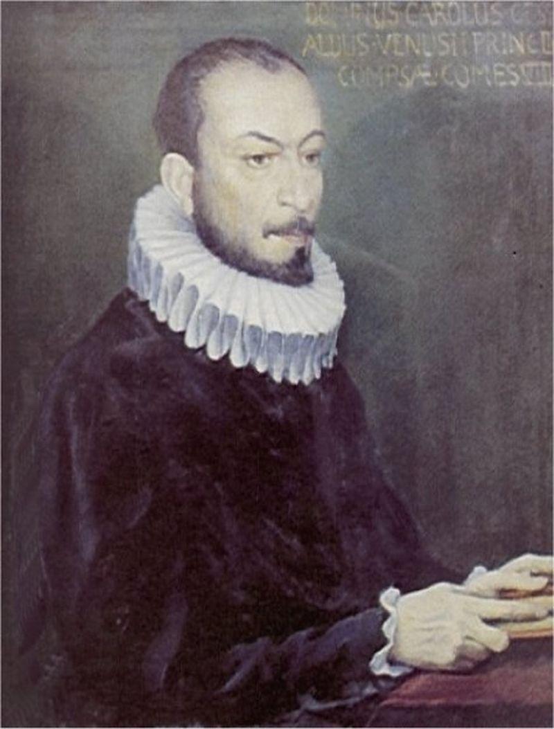 Карло Джезуальдо (прижизненный портрет)