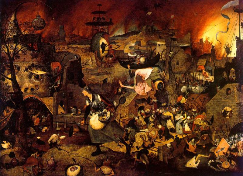 Питер Брейгель (Старший). Безумная Грета. 1562нидерл. Dulle Griet / Холст, масло. 115 × 161 смМузей Майер ван дер Берга, Антверпен