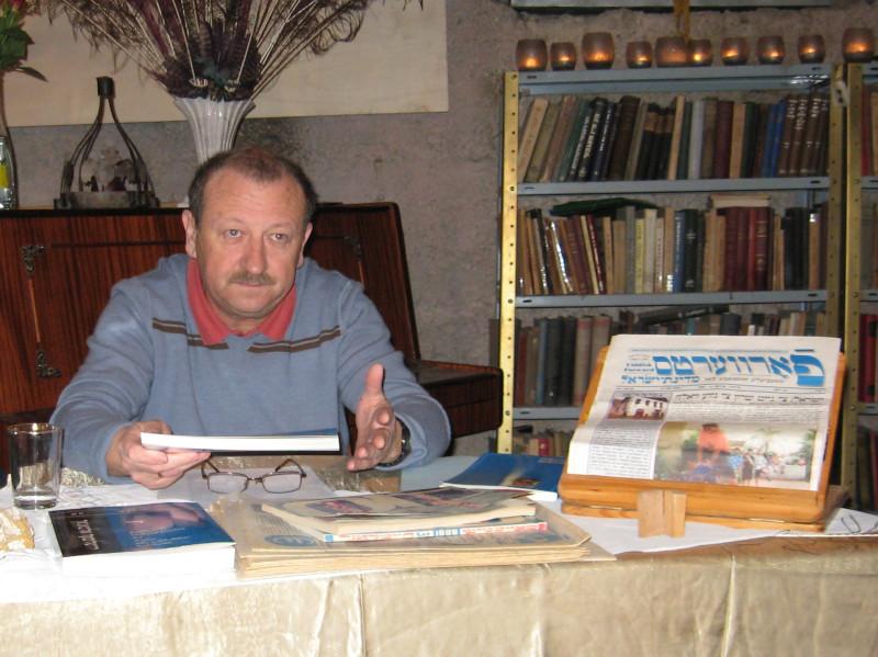 Борис Сандлер, еврейский писатель, редактор и журналист