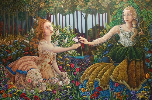 Persephone and her mother Demeter