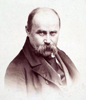Тарас Шевченко. Фотопортрет (1858)