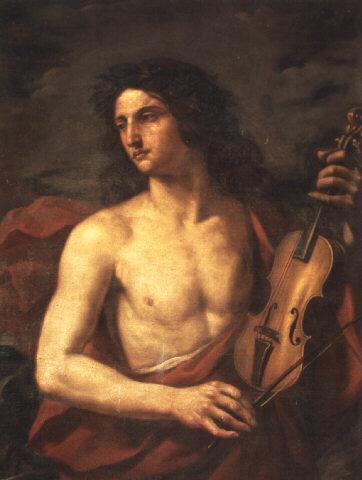 «Орфей с виолой», XVII в. (Чезаре Дженнари[en], частная коллекция)
