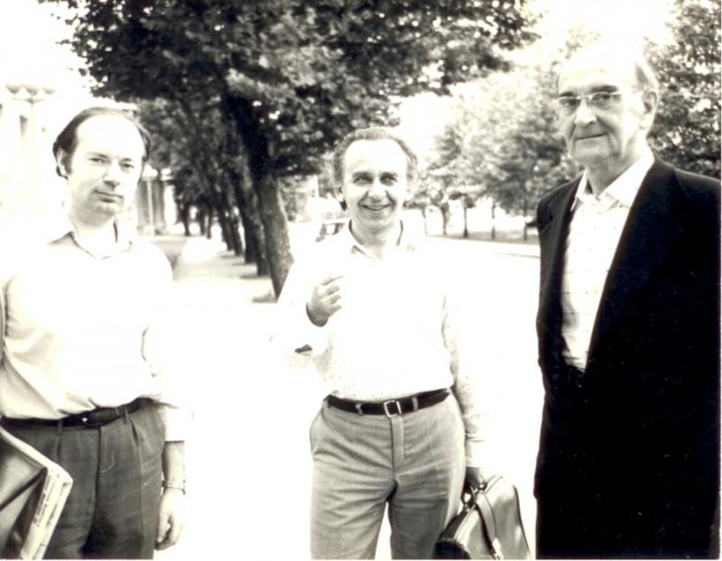 Юрий Александрович Фортунатов в Кишиневе, 1985
