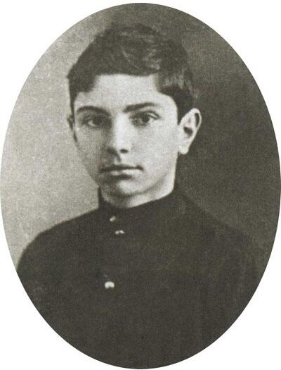 Олег Поль. Гимназист
