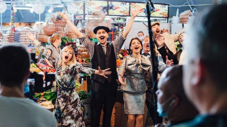 """Артисты исполнили фрагмент из оперы Гаэтано Доницетти """"Viva la mamma"""". Фото: КГГА"""