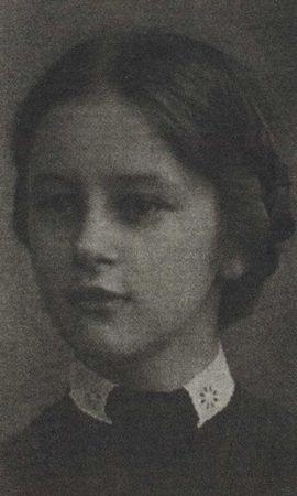 Зинаида Николаевна Барютина. 1917(?)