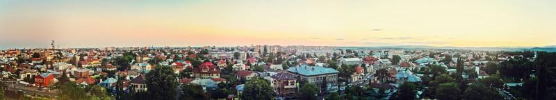 Панорама Тырговиште