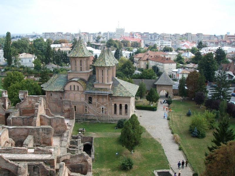 Княжеский двор и город