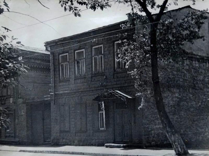 Здание на улице Степана Разина, где в годы войны совместно с музыкальной школой работало и музыкальное училище
