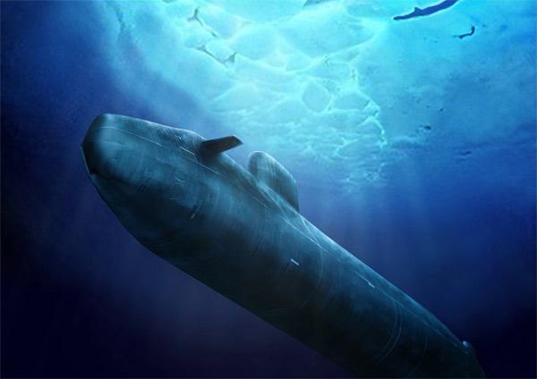 съемки подводных лодок под водой